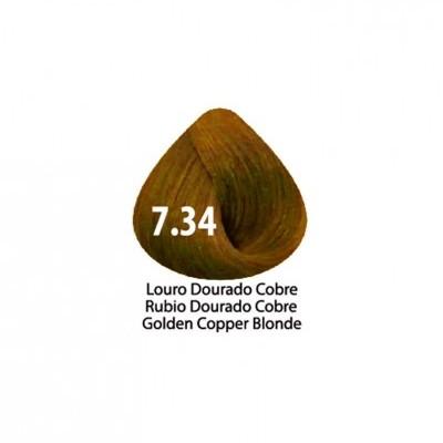 Tinta Violet Keratin Trendy 7.34 - 100ml - LOURO  DOURADO COBRE