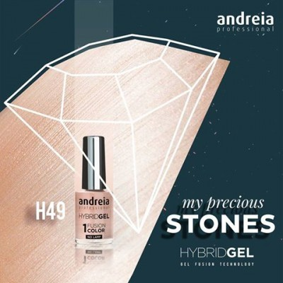 Hybrid Gel Andreia – Fusion Color H49