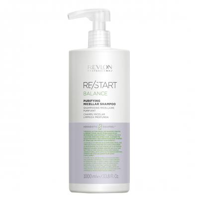 Revlon Restart Balance Purifying Shampoo 1000ml