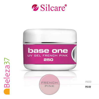 Gel de Construção Base One French Pink – Rosa Semi-Transparente 250ml
