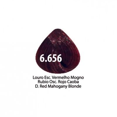 Tinta Violet Keratin Trendy 6.656 - 100ml - LOURO ESCURO VERMELHO MOGNO VERMELHO