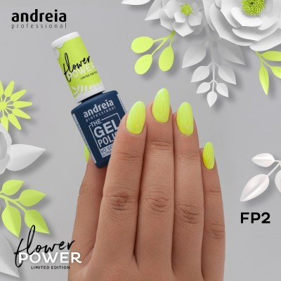 The Gel Polish Andreia FP2 - Verde Cítrico Néon