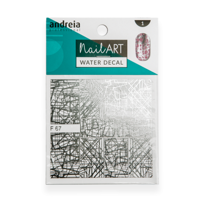 Water Decal Andreia - n.1 - F67