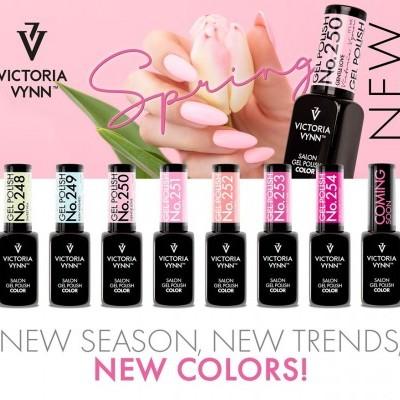 Verniz Gel Victoria Vynn - Spring Collection de 7 Cores (Cores 248 ao 254)