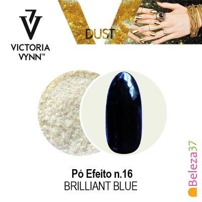 Pó Efeito Victoria Vynn n.16 Brilliant Blue (Azul Brilhante)
