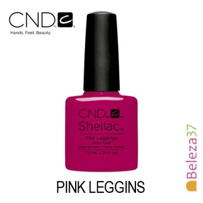 CND Shellac – Pink Leggins