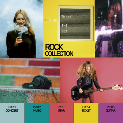Coleção Verniz Gel PURPLE – Rock Collection (P2011 ao P2015)