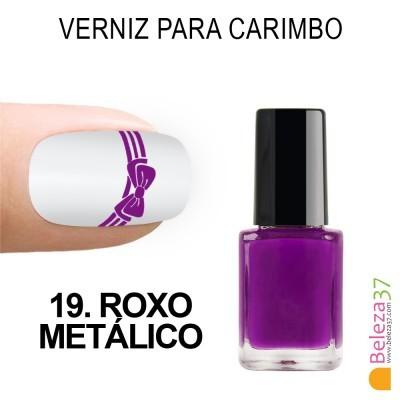 Verniz para Carimbo - 19. ROXO METÁLICO