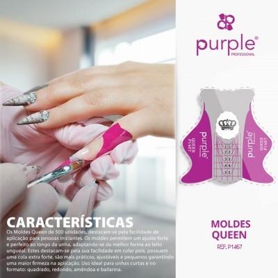 500 Moldes Purple Queen