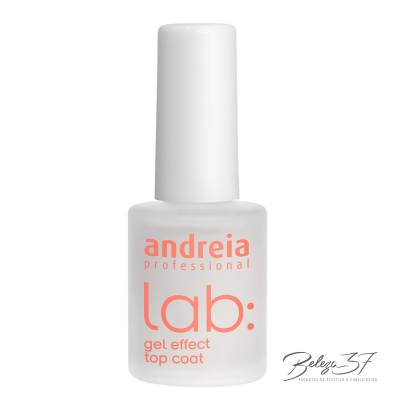 lab: gel effect top coat andreia