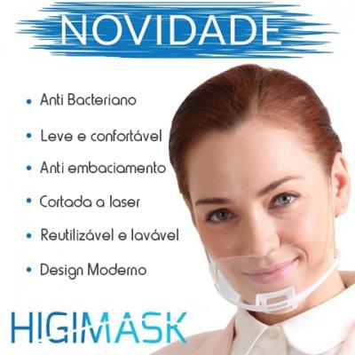 Máscara de Proteção Higimask Branca