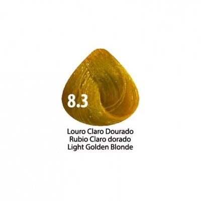 Tinta Violet Keratin Trendy 8.3 - 100ml - LOURO CLARO DOURADO
