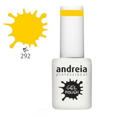 Verniz Gel Andreia 292 (Amarelo Canário)