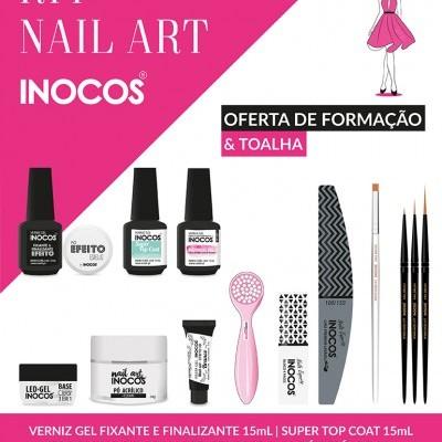 Kit Nail Art INOCOS – Inclui Formação Gratuita
