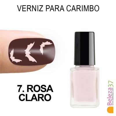 Verniz para Carimbo - 7. ROSA CLARO