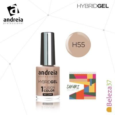 Hybrid Gel Andreia – Fusion Color H55 (Bege)
