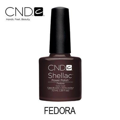 CND Shellac – Fedora 92007 (Castanho Escuro)