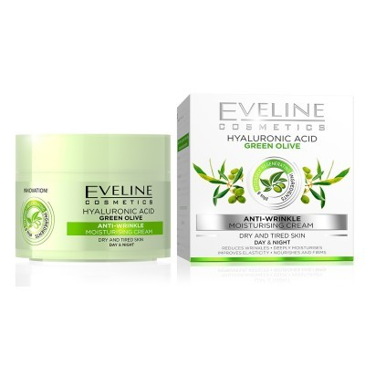 Creme de Rosto Eveline Green Olive Anti Wrinke 50ml