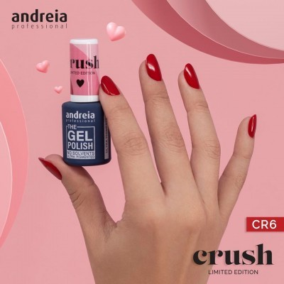 The Gel Polish Andreia CR6: Amor eterno - Vermelho Coração