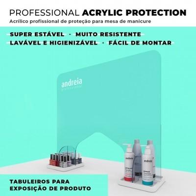 Protetor de Mesa em Acrílico Andreia Professional