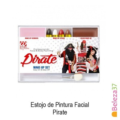Estojo de Pintura Facial - 03 - Pirate (Pirata)