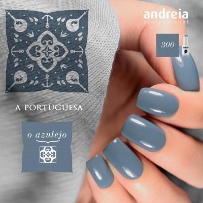 Verniz Gel Andreia 300 – O azulejo (azul celeste)