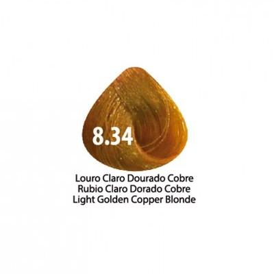 Tinta Violet Keratin Trendy 8.34 - 100ml - LOURO  CLARO DOURADO COBRE