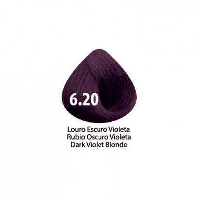 Tinta Violet Keratin Trendy 6.20 - 100ml - LOURO  ESCURO VIOLETA