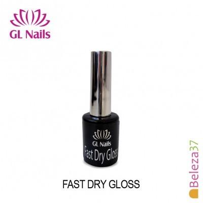 Fast Dry Gloss - Top Frio de Secagem Rápida GL Nails