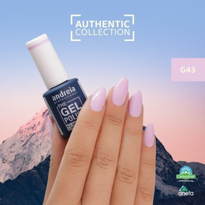 The Gel Polish Andreia G43 – Pink Sunset