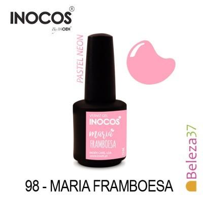 Verniz Gel Inocos 98 — Maria Framboesa