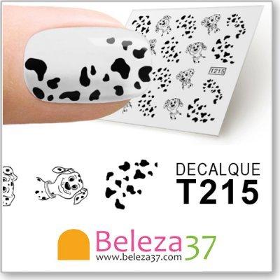 Decalques dos 101 Dálmatas (T215)