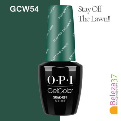 OPI GC W54 – Stay Off The Lawn!!