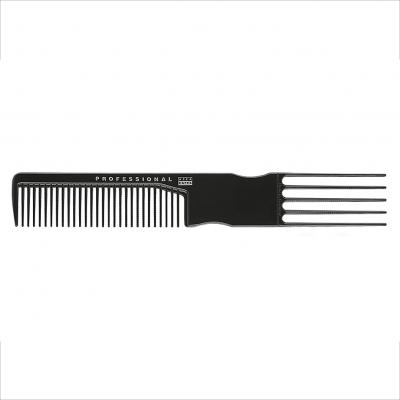 Pente Garfo 14,5cm da Acca Kappa (Plástico Negro)