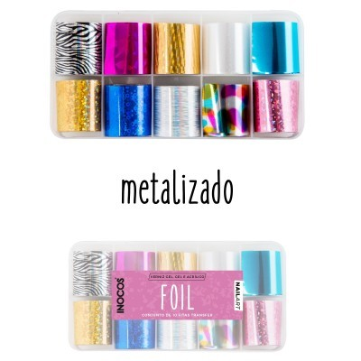 Foil Inocos n.º 2 - METALIZADO