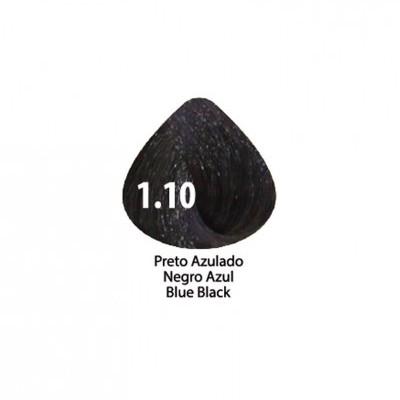Tinta Violet Keratin Trendy 1.10 - 100ml - PRETO  AZULADO