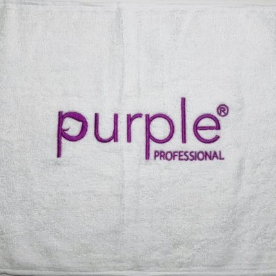 Toalha Bordada Purple Professional