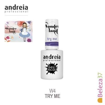 Verniz Gel Andreia W4 – Try Me (Roxo Mágico)