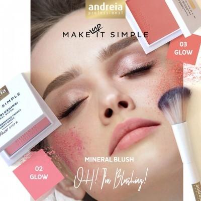 Andreia Face 8 - OH! I'M BLUSHING! / Mineral Blush