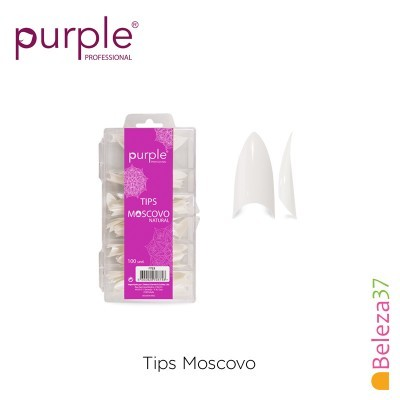PURPLE – Tips Moscovo Natural (100 unidades)