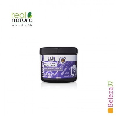 Máscara Real Natura - Pro-Cor e Tom Matizante 500ml