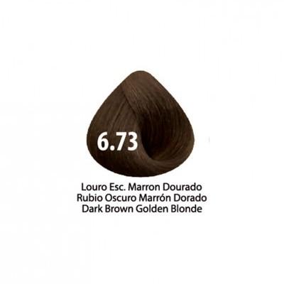 Tinta Violet Keratin Trendy 6.73 - 100ml - LOURO ESCURO MARRON DOURADO