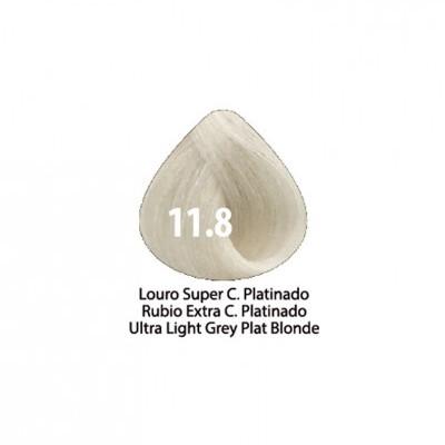 Tinta Violet Keratin Trendy 11.8 - 100ml - LOURO SUPER CLARO PLATINADO