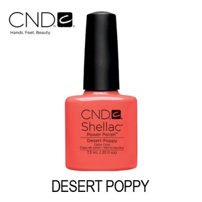 CND Shellac – Desert Poppy