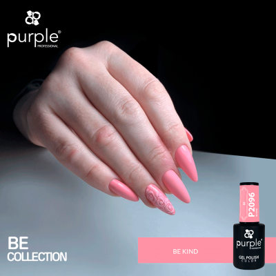 Verniz Gel PURPLE P2096 – Be Kind