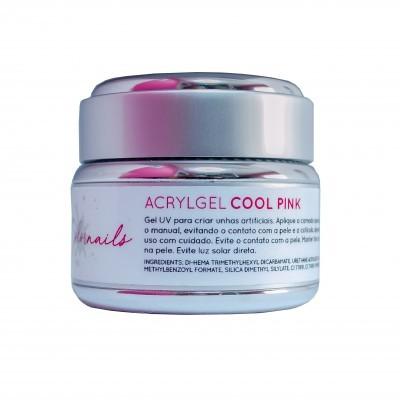 Gel AcrylGel Cool Pink 50ml (Rosa Leitoso)