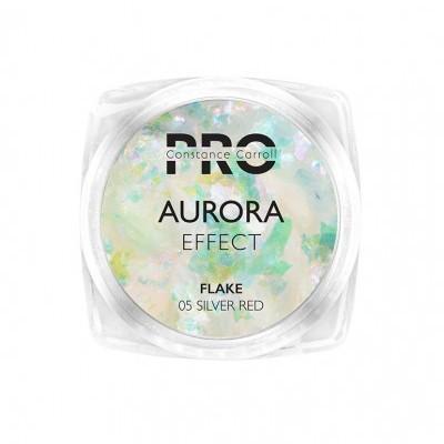 Pigmento Aurora Flake Constance Carroll - Silver Red/Blue Green 05