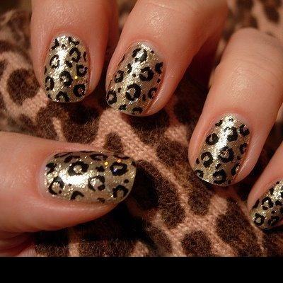 Decalques Pele de Leopardo (H038)