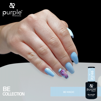 Verniz Gel PURPLE P2105 – Be Magic