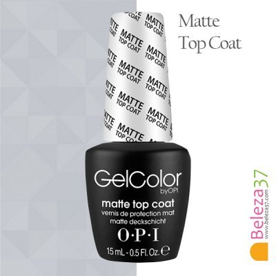 OPI — TOP COAT MATE